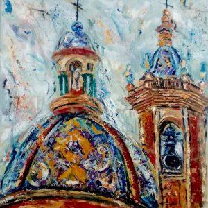 cúpula capilla del carmen