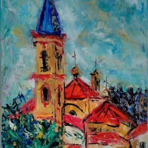 torre e iglesia